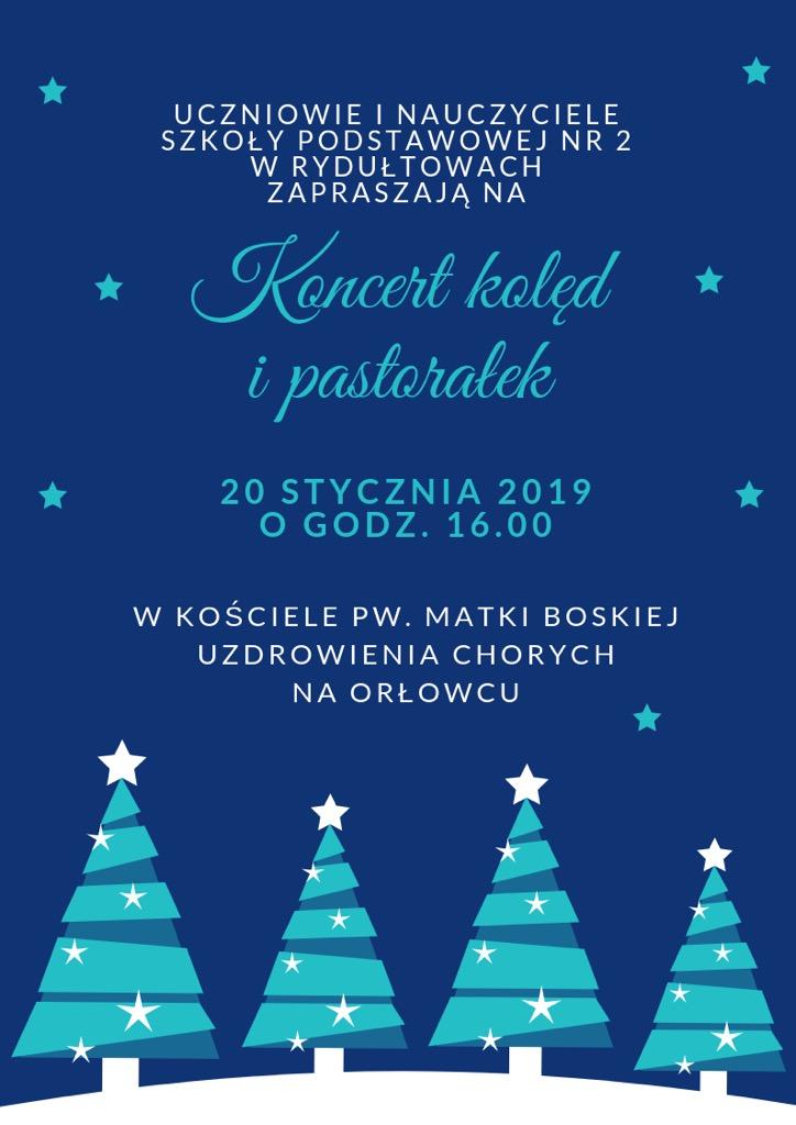 Koncert kolędowy – zapraszamy serdecznie!