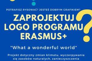 Plakat na logo projektu