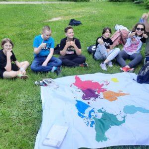 Geografia integruje klasę 6B
